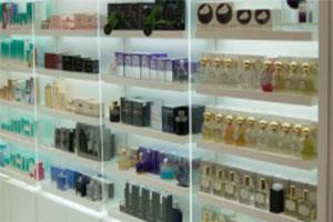 Vitrina para perfumes